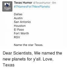 All Meme Names - texas humor texas humor texas humor 8m 7 names for 7newplanets