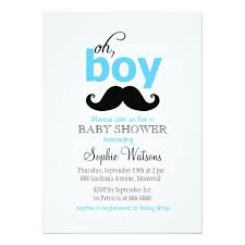 baby shower mustache it s a boy mustache baby shower invitation card
