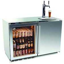 Glass Door Beverage Refrigerator For Home by Kalamazoo 48