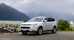 nissan outlander 2008 2014 mitsubishi outlander drive event vancouver review