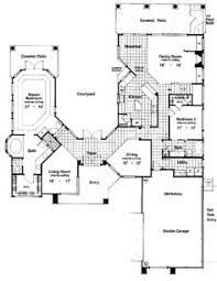 Mediterranean House Plans With Courtyard Mediterranean House Plan Bordeaux House Plan Weber Design Group