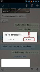 social media help delete chat in whatsapp