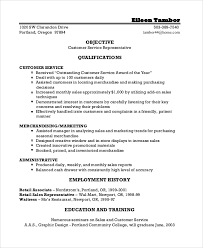Objective Examples For Resumes by Resume Objective Example 8 Samples In Pdf Word