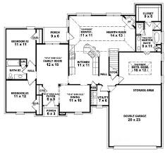 5 bedroom floor plans 1 story 5 bedroom 1 level house plans adhome