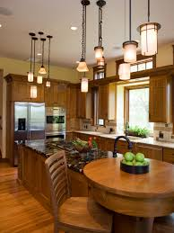 sleek modern kitchen decor ideas with great white island and