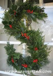 six christmas wreaths to inspire sweet pea