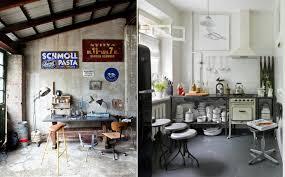 cuisine style loft industriel tabouret de bar industriel la vedette indiscutable dans la