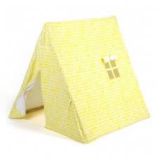 tente chambre enfant tente feuilles jaune deuz pour chambre enfant les enfants du design