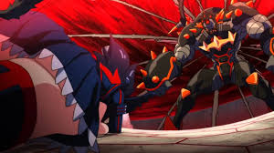 rainbow of red shades kill la kill prodigy omen amv 2016