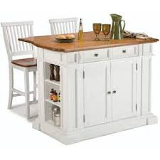wooden kitchen islands white distressed oak kitchen island and bar stools by home styles