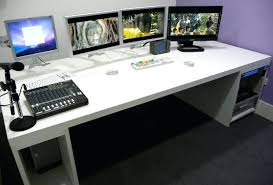Gaming Desk Plans Diy Gaming Desk Plans Built In Computer Desk Diy Gaming Desk Ideas