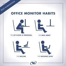 Ergonomic Desk Position 108 Best Ergonomics Images On Pinterest Ergonomic Office Chair
