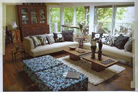 Tropical Themed Room - apartments awesome tropical living room decor ideas with cream