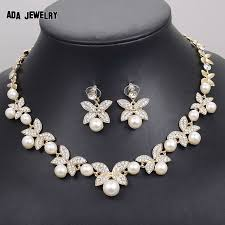 white pearl necklace designs images 41 simple pearl necklace and earring set aliexpresscom buy 17km jpg