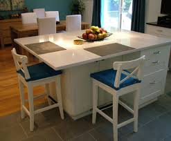kitchen islands with stove top and seating decoraci on interior