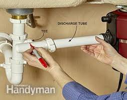installing a garbage disposal in a single drain sink how to replace a garbage disposal family handyman