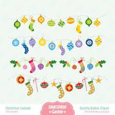christmas garlands clipart 52