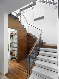 Glass Handrails For Stairs Interior Glass Stair Railing Houzz