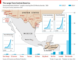 Map Of The Us And Mexico by Under Age And On The Move Economists Drug Cartel And Young People
