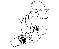 romance kissing fish coloring pages download u0026 print