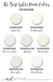 best white for cabinets and trim the best white paint colors micheala diane designs