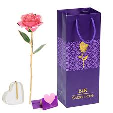 Gold Dipped Roses 24k Gold Dipped Ture Roses Party Supplies Cool Toys Gifts Home