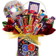 Birthday Gift Baskets For Men 30th Birthday Chocolate Bouquet For Him 30th Chocolate Gift For Him