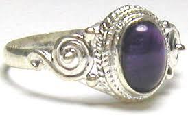 gem silver rings images Sterling silver amethyst gems ring apr 9 buy indian waresbuy jpg