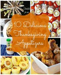 10 delicious thanksgiving appetizer recipes
