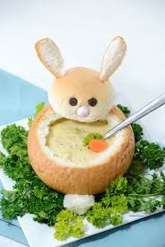 easter bunny easter bunny bread bowl the idea room