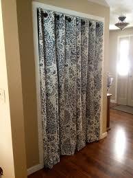 Replace Sliding Closet Doors With Curtains No More Pinch Y Sliding Closet Doors Hello Pretty Curtains