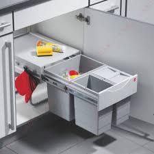 poubelle de cuisine tri s駘ectif 3 bacs poubelle tri sélectif 3 bacs de 35 litres accessoires cuisines