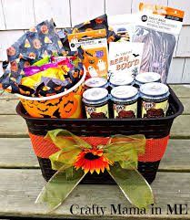 Halloween Baskets Gift Ideas How To Make A Halloween Wreath For Under Five Dollars Crafty