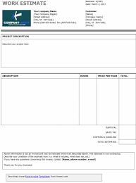 estimate forms thebridgesummit co