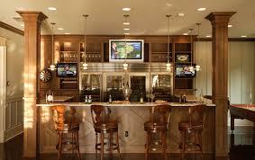 fresh custom built bars for basements 1138