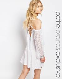 white cove petite white cove petite all over lace bell sleeve