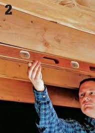 Floor Joist Repair How To Repair A Cracked Or Sagging Joist Home Improvement And
