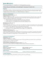 Free Templates For Resumes Exle Resume Free Sle Resume