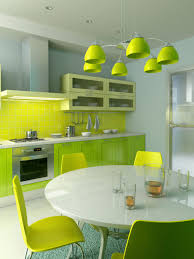 Neutral Kitchen Colors - kitchen small sized kitchen in white tone with green accent