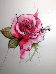 omg can i get tattoo water color rose tattoo u003d perf my