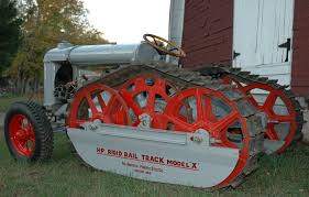 1926 Fordson Tractor With Haddfield Penfield Rigid Rail Model X