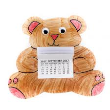 2018 teddy bear colour calendar kits pack 10 create