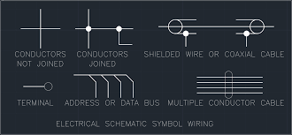 electrical schematic symbol wiring free cad block and autocad