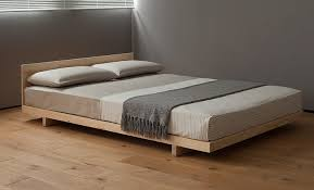 Simple Wood Platform Bed Plans by Cool Simple Platform Bed With 1000 Images About Diy Woodworking