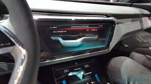 Audi E Tron Interior Check Out Audi U0027s Incredible Oled Packed E Tron Quattro Cockpit