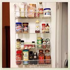 Cabinet Door Organizer Kitchen Door Organizer Awesome Kitchen Cabinet Door Storage