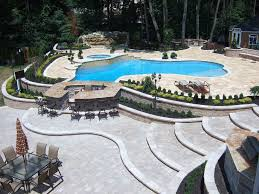 pool patio pavers luxury full pool and patio landscape and design with new a u2026 flickr