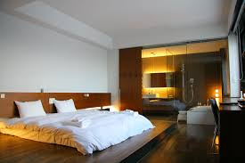 master bedroom and bathroom ideas master bedroom with open bathroom design decorin