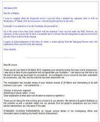 34 complaint letter templates free u0026 premium templates