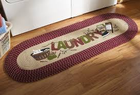 accent rugs and runners amazon com vintage laundry room decorative braided runner home